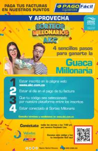 Afiche Guaca Millonaria AKC