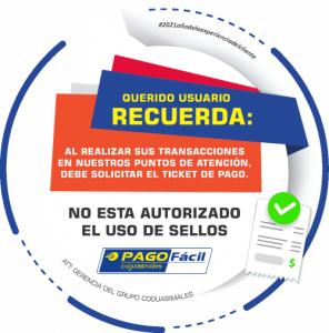 RECLAMAR TICKET DE PAGO PUNTOS PAGO FÁCIL